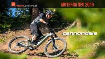 Cannondale Moterra NEO 2019: mtb elettrica da trail