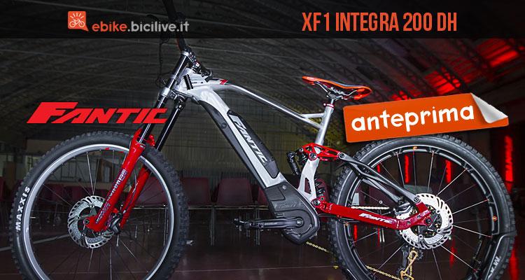 mtb elettrica Fantic XF1 Integra 200 DH