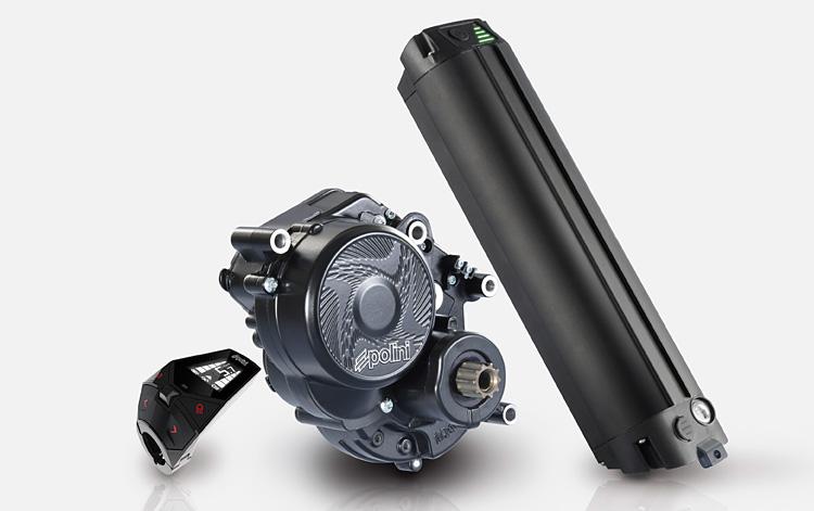 motore Polini EP 3 con doppia batteria