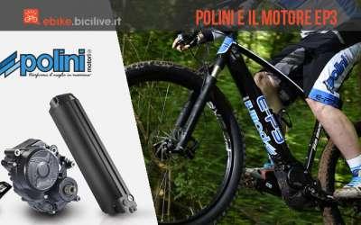 motore per ebike Polini EP-3 Dual Battery
