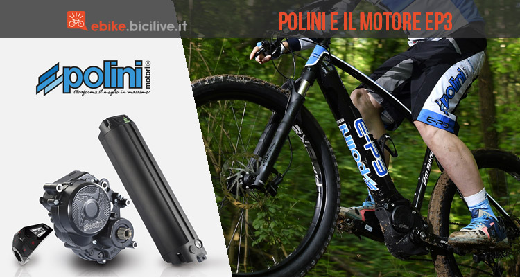 motore per ebike Polini EP-3 Dual Battery