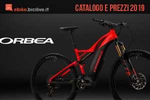 Orbea bici elettriche 2019: catalogo e listino prezzi ebike