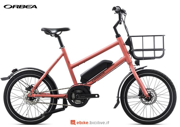 Una piccola bici a pedalata assistita Orbea Katu-E 10 anno 2019