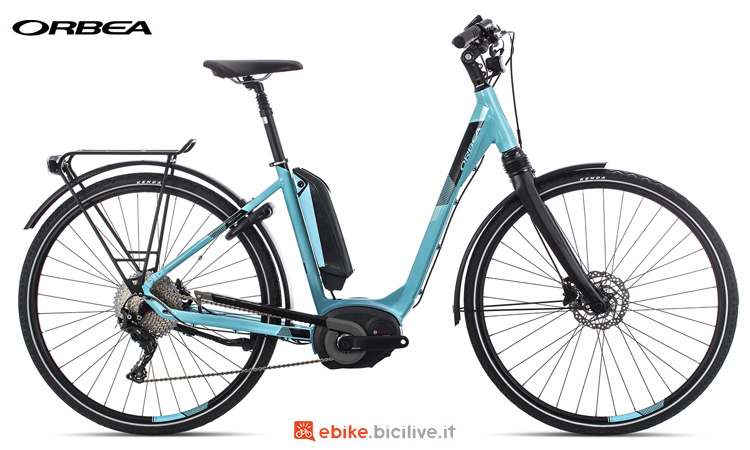 Una city ebike Orbea Optima Comfort 10