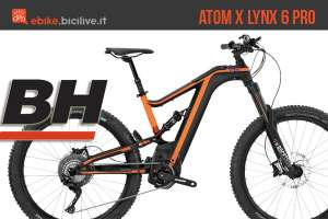 BH Atom X Lynx 6 Pro: mountain bike elettrica all mountain