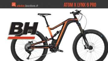 BH Atom X Lynx 6 Pro: mountain bike elettrica all mountain
