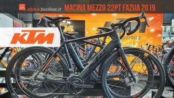 e-road KTM Macina Mezzo 22PT 2019 vista a EICMA