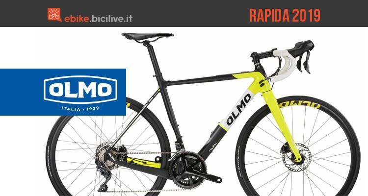 Olmo Rapida 2019: bici da corsa elettrica a pedalata assistita