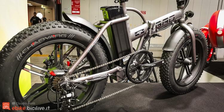 foto della bad bike  efat pieghevole