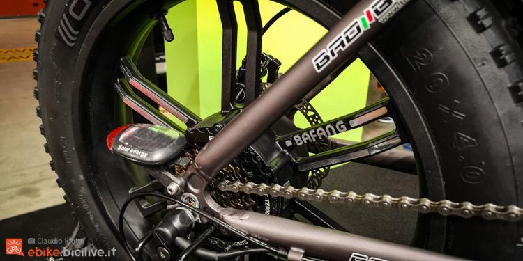 foto della parte posteriore della Bad Bike BAD