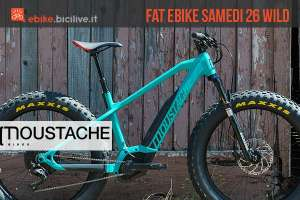 fat bike elettrica Moustache Samedi 26 Wild