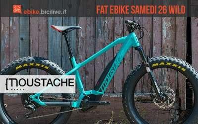fat bike elettrica Moustache Samedi 26 Wild