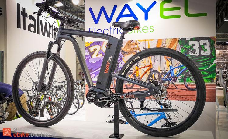 foto della bici elettrica wayel icon