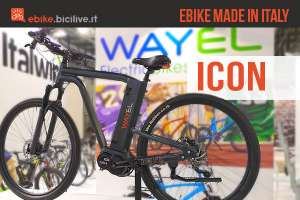 Wayel Icon ebike italiana
