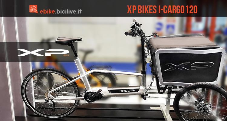XP Bikes I-Cargo120 la cargo ebike di nuova concezione