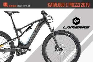 Bici elettriche Lapierre: catalogo e listino prezzi 2019