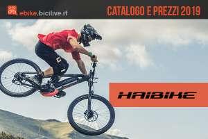 Bici elettriche Haibike: catalogo e listino prezzi 2019