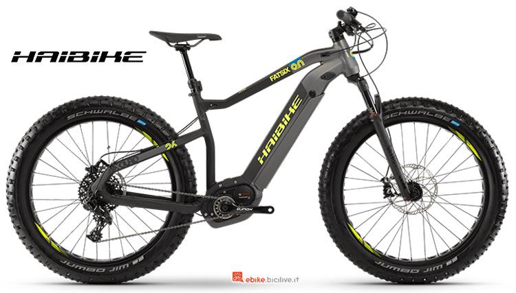 Bici elettrica Haibike XDURO FatSix 9 anno 2019