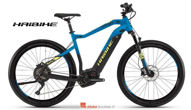 Bici elettrica Haibike SDURO Cross 9 gamma 2019