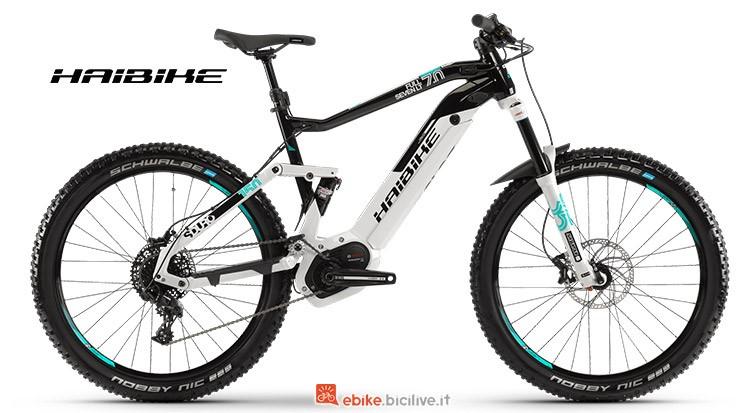 Bici elettrica Haibike SDURO FullSeven LT 7 catalogo 2019