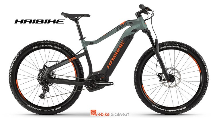 Bici elettrica Haibike SDURO HardSeven 8 catalogo 2019