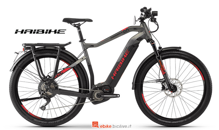 Bici elettrica Haibike SDURO Trekking S 9 catalogo 2019