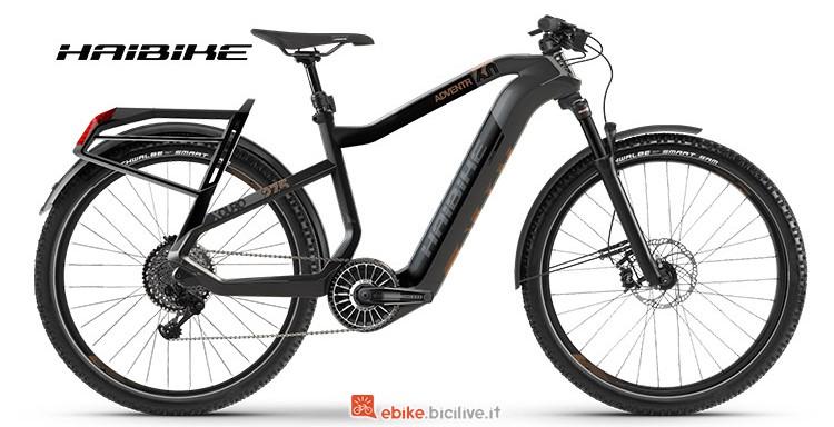 B elettrica Haibike XDURO Adventr 6 serie 2019