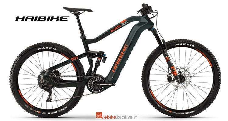 Bici elettrica Haibike XDURO Allmtn 8 gamma 2019