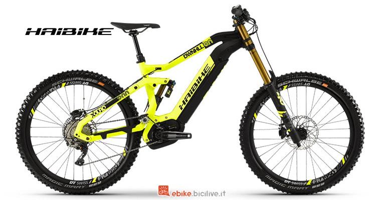 Bici elettrica Haibike XDURO Dwnhll 9 anno 2019