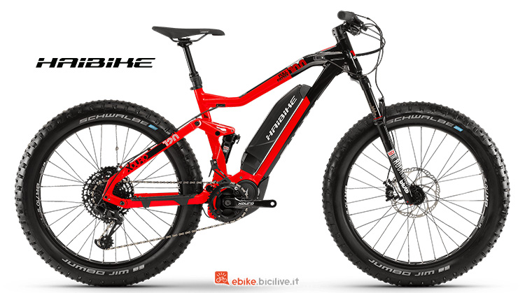 Bicicletta elettrica Haibike XDURO FullFatSix 10 anno 2019