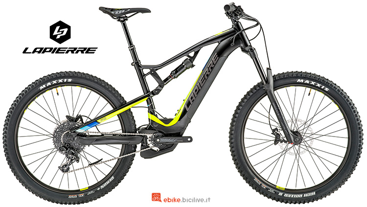 Bici elettriche Lapierre Overvolt AM 500 i catalogo 2019