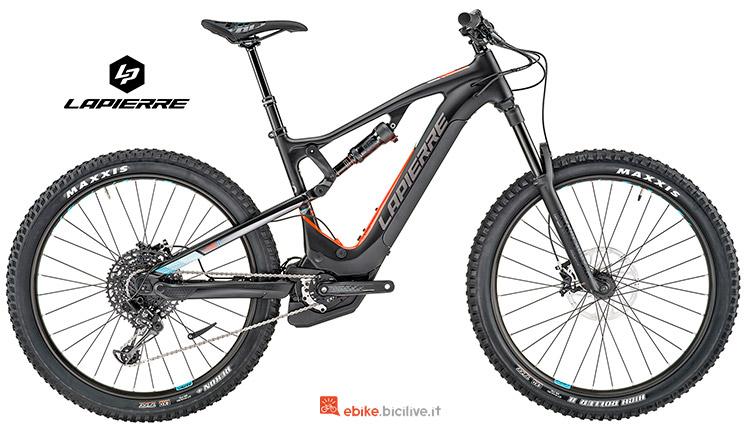 Bicicletta elettrica lapierre Overvolt AM 800 i gamma 2019