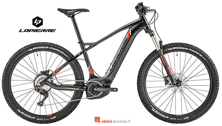 Bici elettrica Lapierre Overvolt HT 700 i gamma 2019
