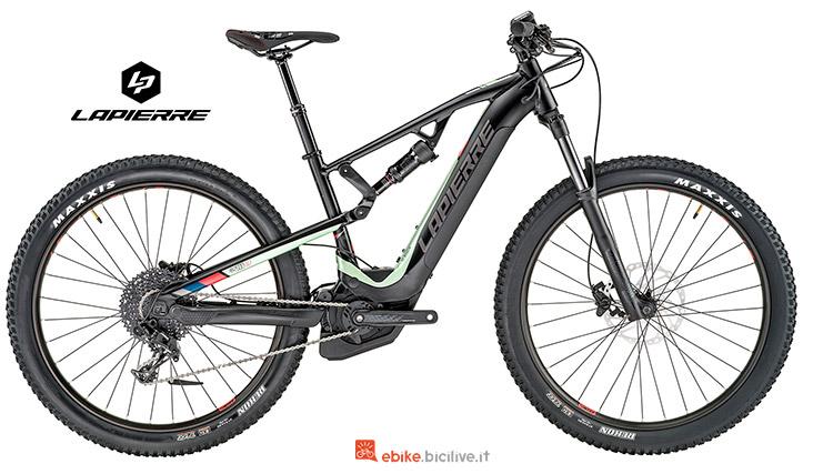 Bici elettrica versione femminile Lapierre Overvolt TR 500 i W 2019