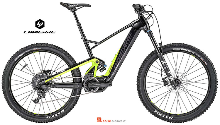Bicicletta elettrica Lapierre Overvolt AM 627 i catalogo 2019