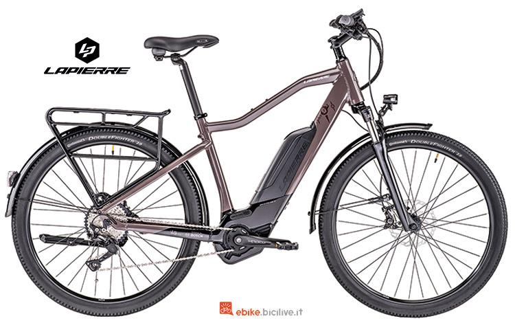 Bicicletta elettrica Lapierre Overvolt Explorer 800 catalogo 2019