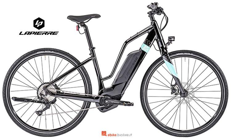 Bicicletta elettrica da donna Lapierre Overvolt Shaper 800 W anno 2019