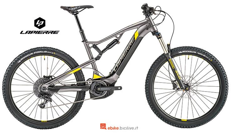 Bicicletta elettrica Lapierre Overvolt TR 400 i catalogo 2019