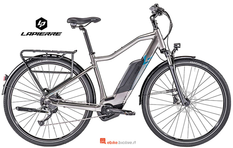 Bicicletta elettrica Lapierre Overvolt Trekking 600 catalogo 2019