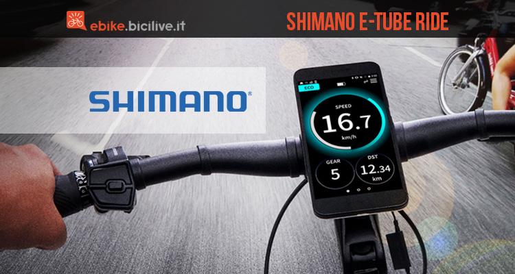 Shimano E-TUBE: l'app che migliora la tua esperienza di guida