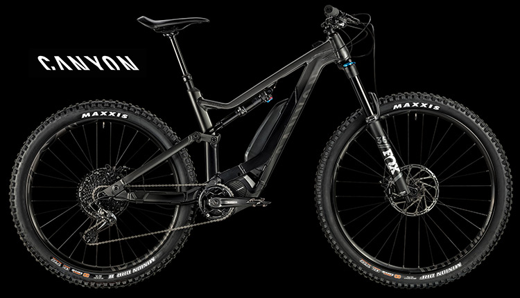 Bici elettrica Canyon Spectral:ON 6.0 serie 2019
