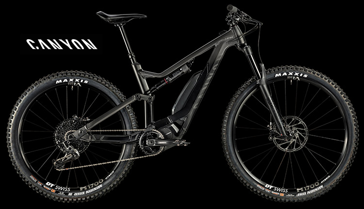 Bicicletta elettrica Canyon Spectral:ON 8.0 serie 2019