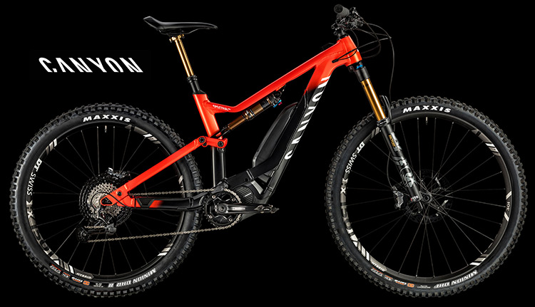 Ebike Canyon Spectral:ON 9.0 catalogo 2019