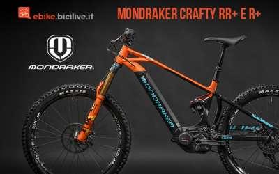 Mondraker Crafty RR+ e R+ 2019, una eMTB tra l'all mountain e l'enduro