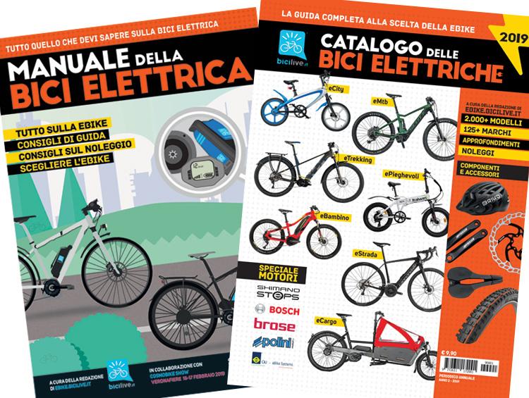 Il Manuale della Bici Elettrica e il Catalogo delle Ebike