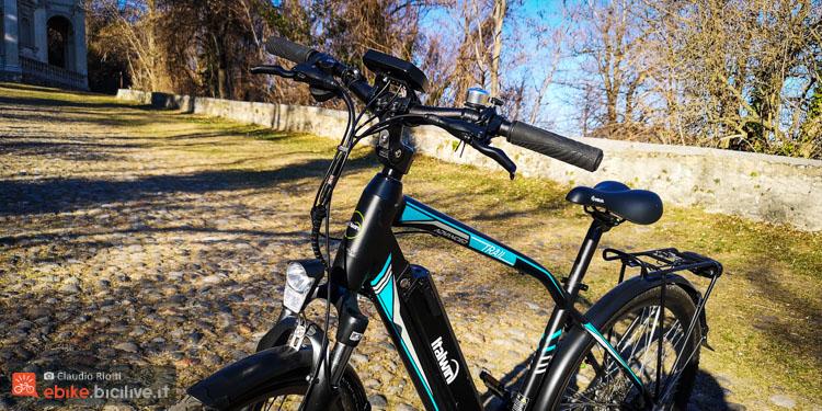 foto della parte anteriore della italwin trail advanced