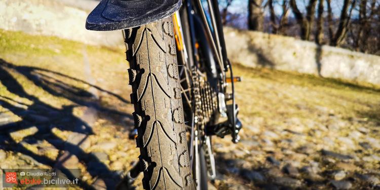 foto delle ruote della etrekking italwin