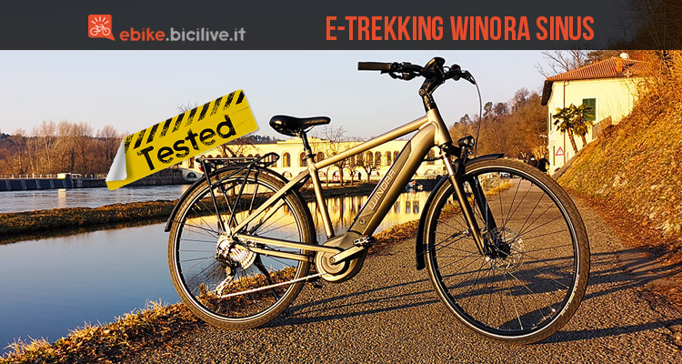 winora sinus ix11 2019 test e recensione ebike da trekking. Black Bedroom Furniture Sets. Home Design Ideas