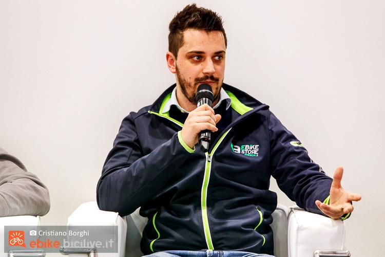 Andrea Liberini conferenza ebike e moto