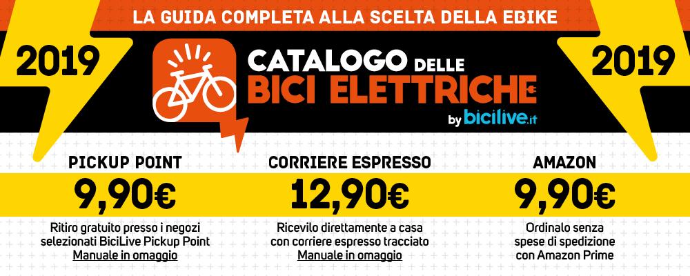 metodi di acquisto del Catalogo delle Bici Elettriche 2019